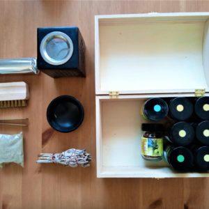 Starter Knisterbox - Premium Einsteigerset ausgepackt