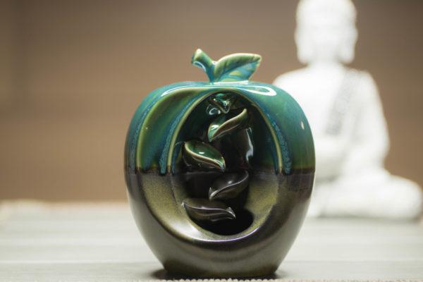 Räucherbrunnen Apfel Frontansicht